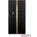 HITACHI REFRIGERATOR SIDE BY SIDE RW660PUQ3 یخچال فریزر هیتاچی