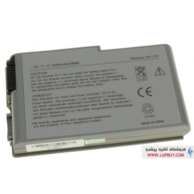 Dell Latitude D600 6 Cell Battery باطری لپ تاپ دل