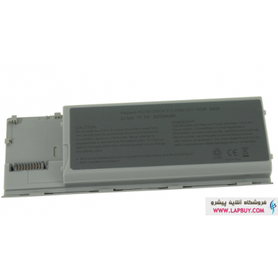 Dell Latitude D620 6 Cell Battery باطری لپ تاپ دل