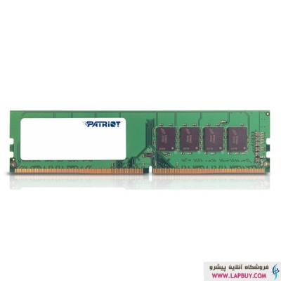 Patriot Signature DDR4 2400 CL16 Single Channel Desktop - 4G رم کامپیوتر