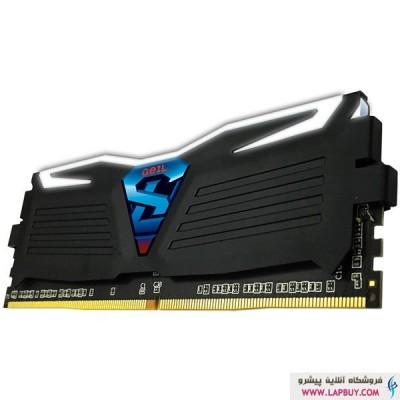 Geil SUPER LUCE 32GB 16GBx2 2400Mhz CL15 DDR4 رم کامپیوتر