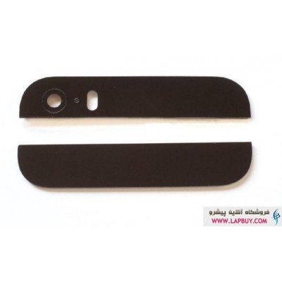 Apple iPhone 5S Decoration Cover Set Top Bottom شیشه و قاب محافظ