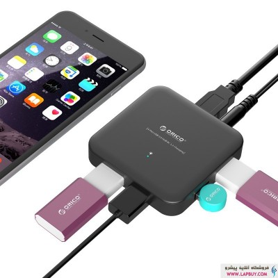 ORICO U3BCH4 هاب ۴ پورت USB3.0 با شارژر