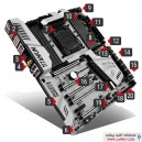 MSI Z170A XPower Gaming Titanium مادربرد ام اس آی