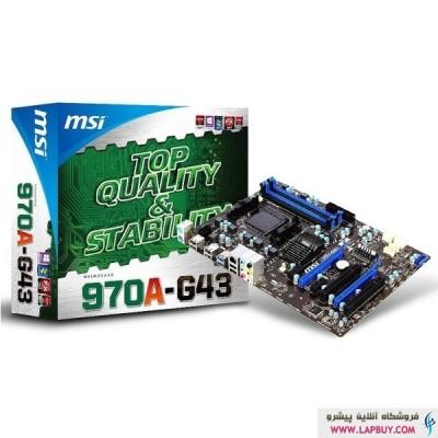 MSI 970A-G43 مادربرد ام اس آی