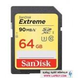 SanDisk Extreme UHS-I U3 Class 10 600X 90MBps SDXC - 64GB کارت حافظه