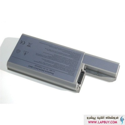 Dell Latitude D820 6 Cell Battery باطری لپ تاپ دل