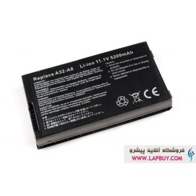 ASUS F8 باطری باتری لپ تاپ ایسوس