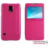 Samsung Galaxy S5 Nillkin Sparkle Flip Cover کیف کلاسوری