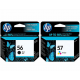 HP OfficeJet 6612 کارتریج پرینتر اچ پی
