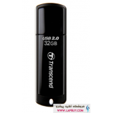 Transcend JetFlash 350 Flash Memory - 32GB فلش مموری