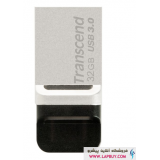 Transcend JetFlash 880S OTG Flash Memory - 32GB فلش مموری