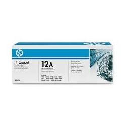 HP 12A کارتریج پرینتر اچ پی طرح فابریک اچ پی