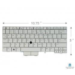 HP Elitebook 2760P کیبورد لپ تاپ اچ پی