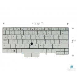 HP Elitebook 2730P کیبورد لپ تاپ اچ پی