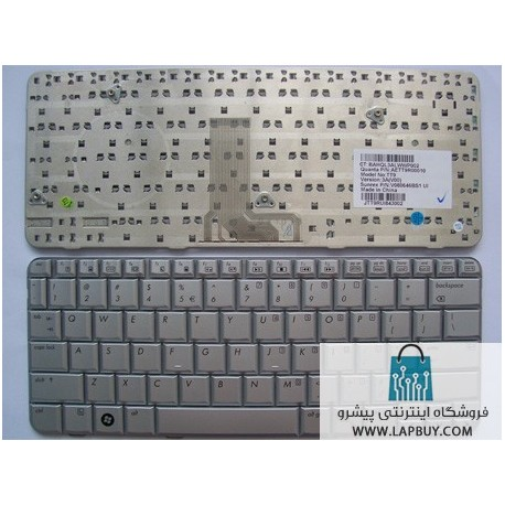 HP Pavilion TX2000 کیبورد لپ تاپ اچ پی