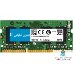 8GB DDR3-1600 SODIMM PC3L-12800 رم لپ تاپ