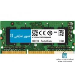 Ram 8GB DDR3 1333Mhz PC3L رم لپ تاپ