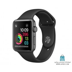 Apple Watch Series 2 42mm Space Gray Aluminum Case with Black Sport Band ساعت هوشمند اپل واچ