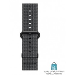 Apple Watch Series 2 42mm Space Gray Aluminum Case with Black Woven Nylon ساعت هوشمند اپل واچ
