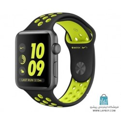 Apple Watch Series 2 Nike Plus 42mm Space Gray with Black/Volt Band ساعت هوشمند اپل واچ