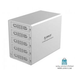 ORICO 3559SUSJ3 5-Bay HDD Enclosure باکس 5 سینی هارد اوریکو