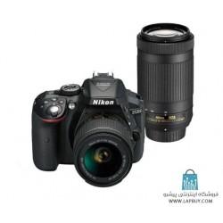 Nikon D5300 kit 18-55 mm And 70-300 mm VR Digital Camera دوربین دیجیتال نیکون