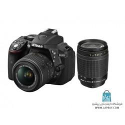 Nikon D5300 kit 18-55 mm And 70-300 mm F/4-5.6G Digital Camera دوربین دیجیتال نیکون