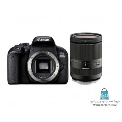 Canon EOS 800D Body Digital Camera With Tamron AF 18-200mm F3.5 - F6.3 Di-II Lens دوربین دیجیتال کانن