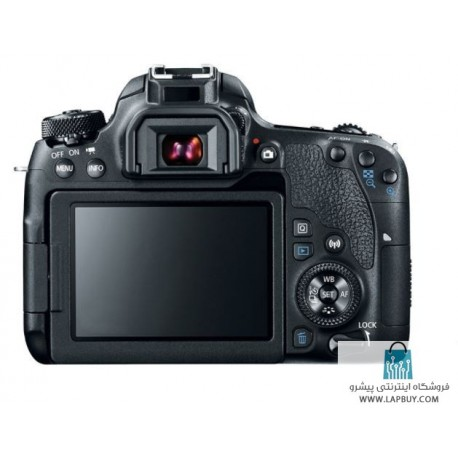 Canon EOS 77D Digital Camera With EF-S 18-135 IS USM Lens دوربین دیجیتال کانن