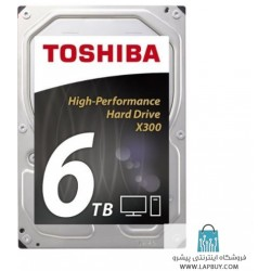 Toshiba X300 HDWE160EZSTA - 6TB هارد اینترنال کامپیوتر