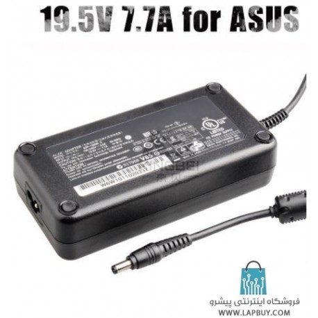 Asus 19.5V 7.7A 150W Laptop Charger آداپتور برق شارژر لپ تاپ ایسوس