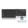 A4Tech Wired Keyboard KR-83 USB کیبورد باسیم ای فورتک