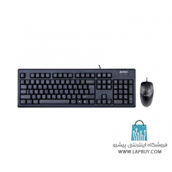 A4Tech KR-8572 USB Keyboard and Mouse کیبورد بیسیم