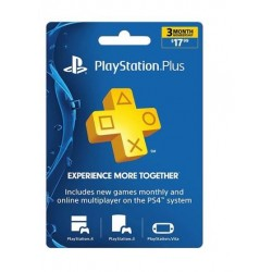 PlayStation Plus Gift Card - 3 Month Membership گیفت کارت پلی استیشن پلاس