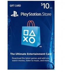 PlayStation 10 Dollars Gift Card گیفت کارت 10 دلاری پلیاستیشن