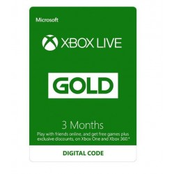 Xbox Gold 3 month Acount اکانت سه ماهه ایکس باکس