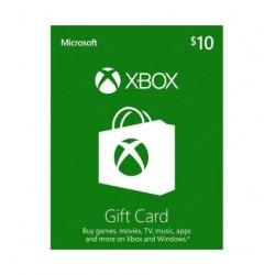 Xbox 10 USD Gift Card گیفت کار ت 10 دلاری ایکس باکس آمریکا