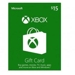 Xbox 15 USD Gift Card گیفت کارت 15 دلاری ایکس باکس آمریکا