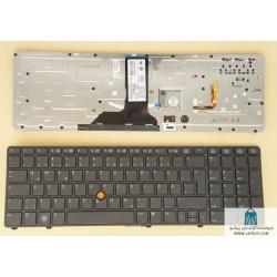 HP Elitebook 8770p کیبورد لپ تاپ اچ پی