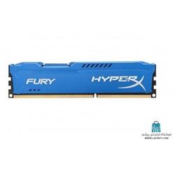 Kingston HyperX Fury 8GB DDR3 1600MHz CL10 Single Channel HX316C10F/8 رم کامپیوتر