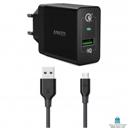 Anker A2013 With Microusb Cable شارژر دیواری انکر