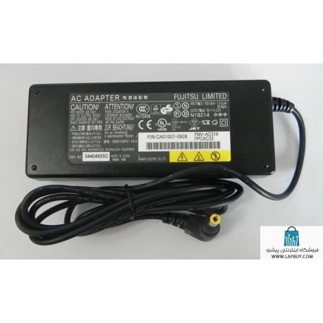 Fujitsu Lifebook LH531 AC Power آداپتور آداپتور برق شارژر لپ تاپ فوجیتسو