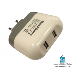 AC Adapter 5v-2.4A USB آداپتور برق با دو خروجی