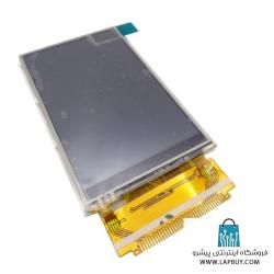 Wide LCD نمایشگر رنگی 3.2 اینچی به همراه تاچ اسکرین