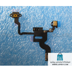 Apple iPhone 4 - Sensor Flex-Cable + Microfone فلت گوشی اپل
