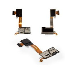 Sony D2303 Xperia M2 کانکتور سیم کارت گوشی موبایل سونی