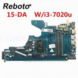 HP 15-DA 15-DA0076nr مادربرد لپ تاپ اچ پی