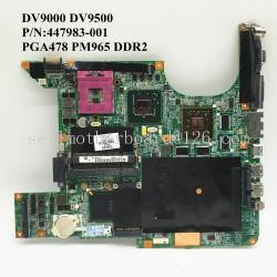 HP DV9000 DV9500 447983-001 مادربرد لپ تاپ اچ پی