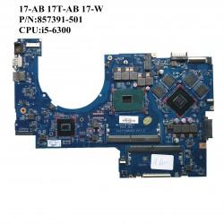 HP 17-AB 17T-AB 17-W 857391-601 مادربرد لپ تاپ اچ پی